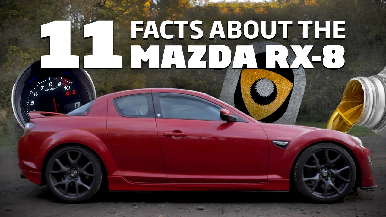 11 Facts About The Mazda Rx 8 Every Petrolhead Should Know