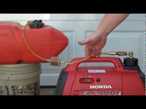 Honda Eu2000i Extended Range Fuel Supply