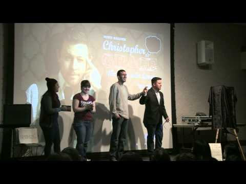 Ramapo College Mentalist Christopher Grace Crazy Mind Reader