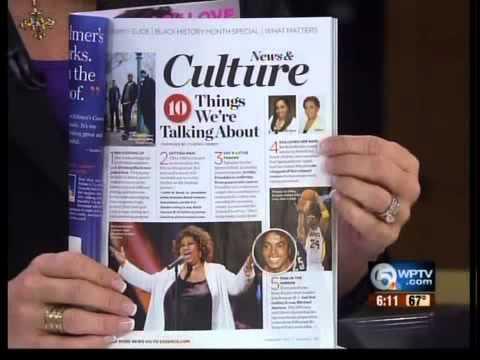 Essence magazine features WPTV reporter