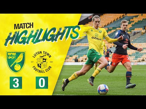 Norwich Luton Goals And Highlights