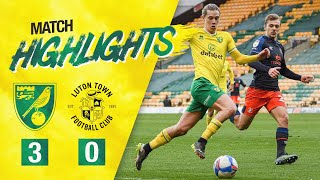 HIGHLIGHTS | PUKKI AT THE DOUBLE | Norwich City 3-0 Luton Town