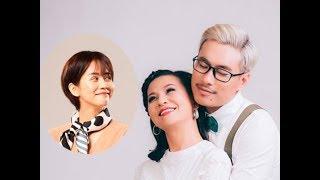An Nguy chăm sóc cho Kiều Minh Tuấn ở hậu trường phim