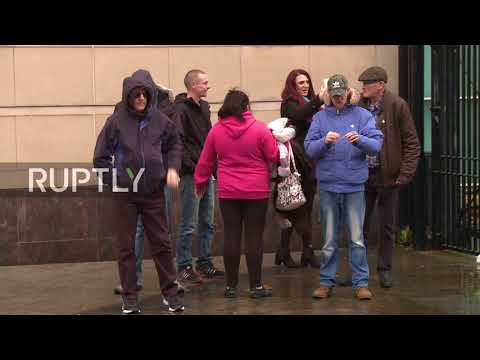 UK: Britain First leaders arrested after Belfast court appearance