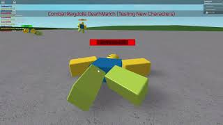 Roblox Lets Play #37 {Ragdoll Fights} ROBLOX IN GMOD