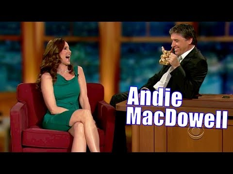Andie MacDowell - Can't Handle The Awkward Pause - 1/3 Appearances