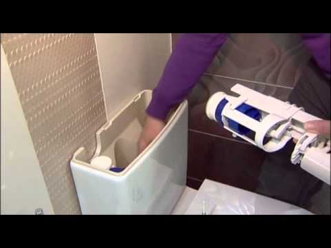 How To Change A New Style Geberit Flush Valve Youtube
