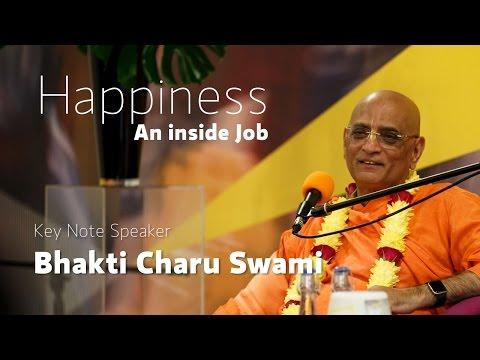 Happiness, an inside job - Bhakti Charu Swami | Veda London