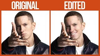 Download lagu Guy Makes Eminem 'Smile' By Photoshopping His Pics And They're Too Funny