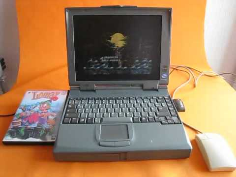 lomax laptop PC game / Spiel CD-Rom music 002