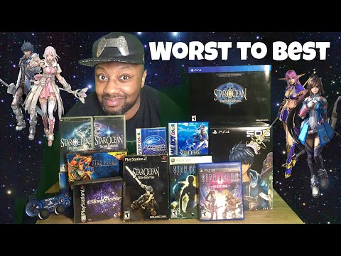 STAR OCEAN SERIES FROM WORST TO BEST