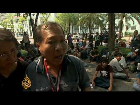 Bangkok remains tense post-violence