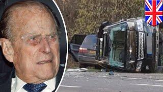 Prince Philip unhurt after car crash near Sandringham - TomoNews