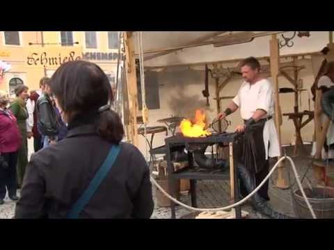 """Festwochenende """"500 Jahre Barbara Uthmann"""" 22.-24. August 2014 in Annaberg-Buchholz"""