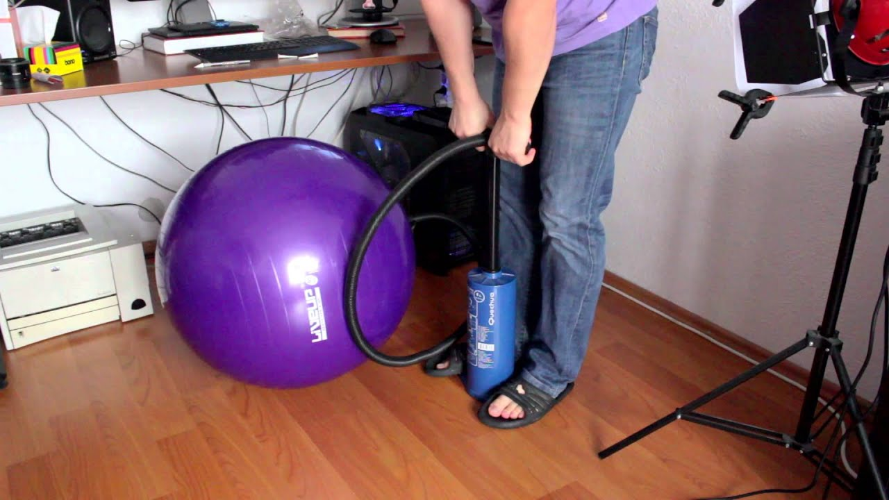 my new office chair (exercise ball) - youtube