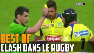 Quand les joueurs de rugby se clashent
