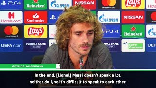 Griezmann struggling to connect with Messi