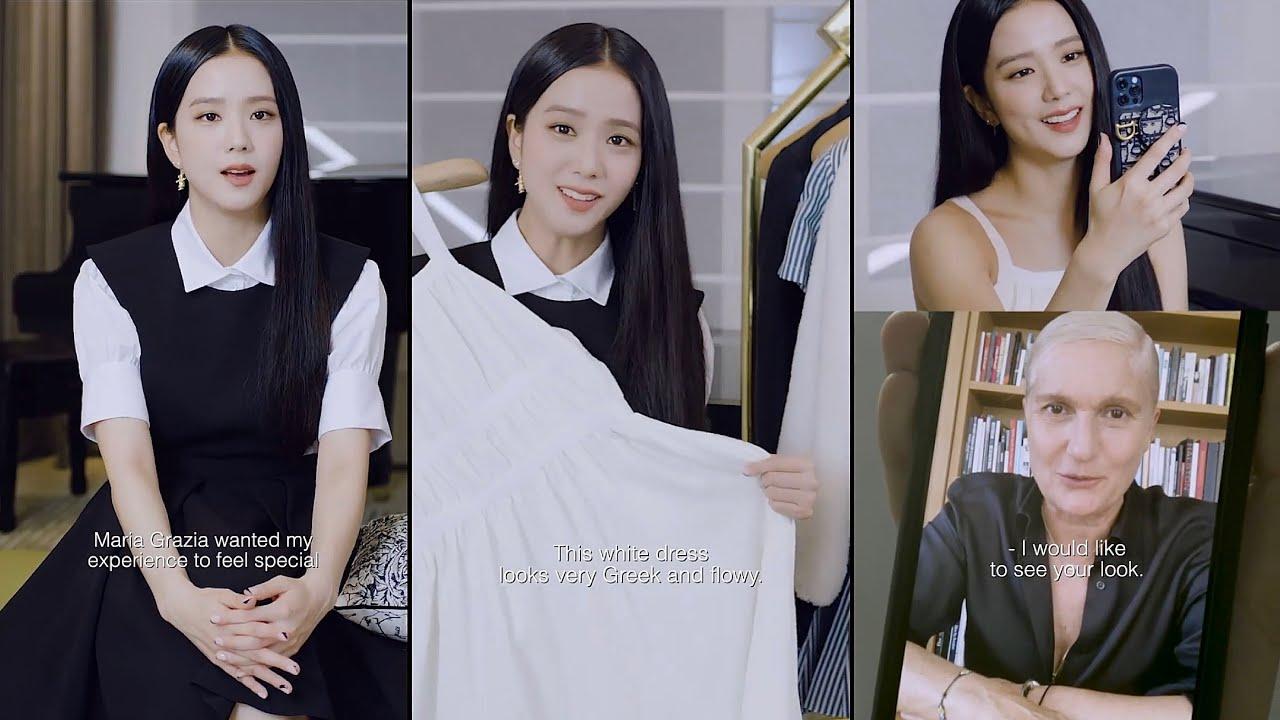 Jisoo prepares for Dior Cruise 2022 by Maria Grazia Chiuri