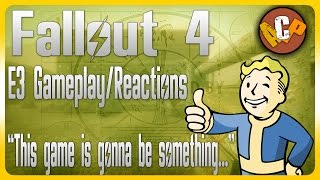 FALLOUT 4 E3 GAMEPLAY SUMMARY/REACTIONS (Fallout 4 E3 Gameplay Trailer)