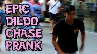 Epic DILDO Chase Prank!
