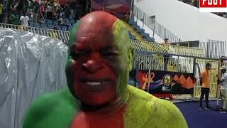 Ngando piquet est Elu Meilleurs Supporter du Match Benin # Cameroun a Ismailia par Vincent Kamto.avi