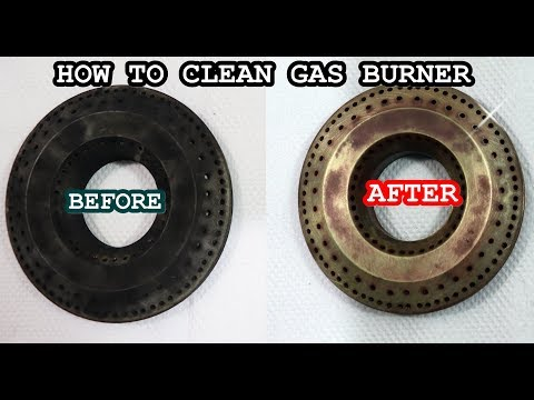 How to clean gas stove burner | gas stove burner cleaning | burner cleaning | kitchen tips