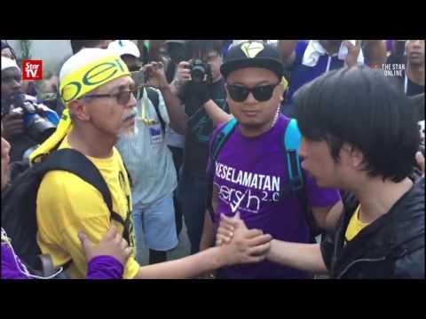 Bersih 5: Emotions run high in Bangsar