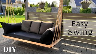 Hollywoodschaukel selber bauen/Gartenmöbel/ Hängeschaukel/ Swing Chair/ Bed Swing/Садовые качели