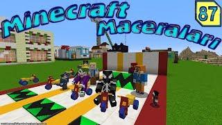 JOKER MİNECRAFT'A BİSİKLET GETİRDİ (Minecraft Maceraları 87 Örümcek Adam)