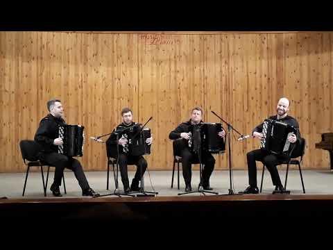 КВАРТЕТ БАЯНИСТОВ, В. Черников Отрада, AKKO Quartet