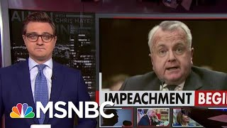 Chris Hayes: President Donald Trump Said His Call Was 'Perfect' -- But He's Lying. | All In | MSNBC