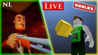 Nello Neighbour NL & Roblox NL Live Stream