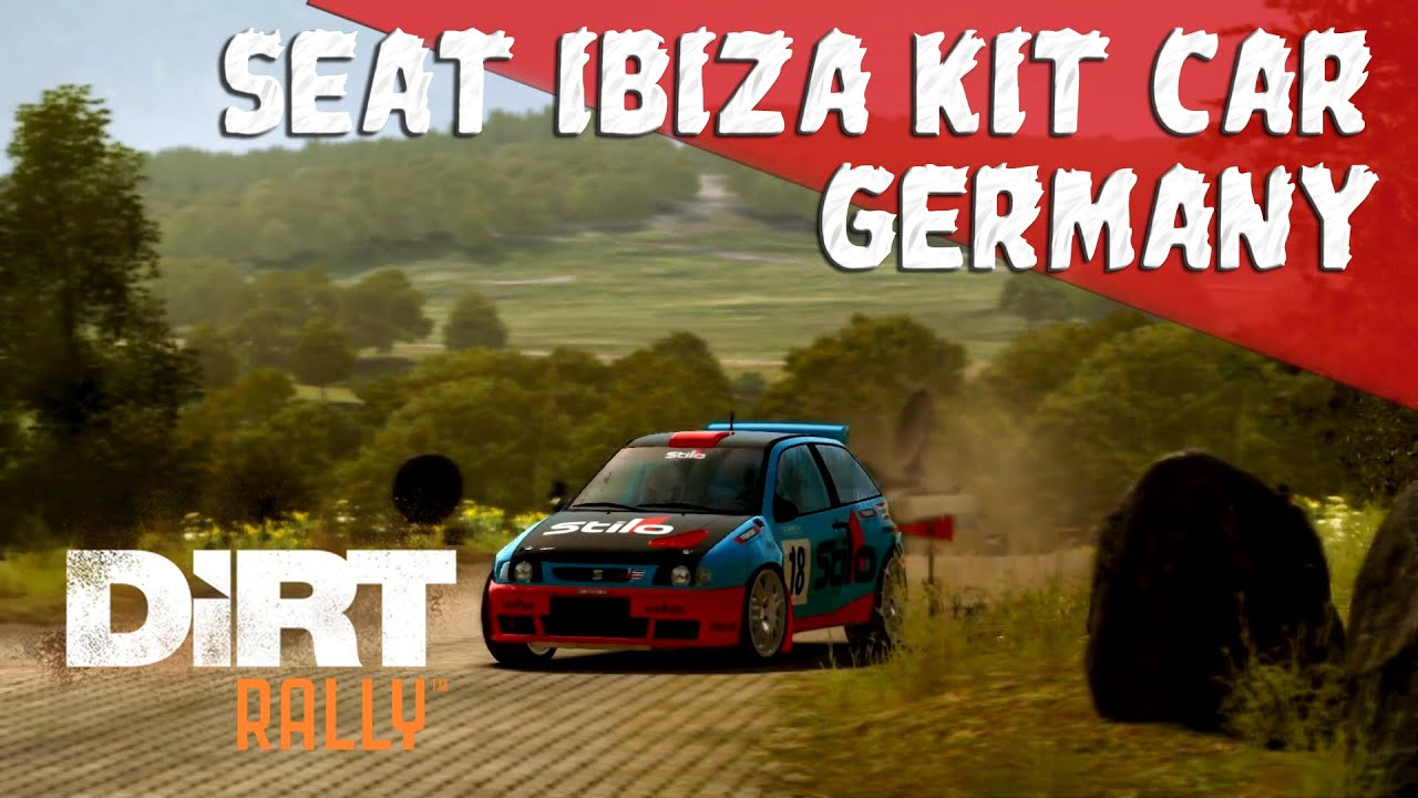 dirt rally ps4 seat ibiza kit car germany youtube. Black Bedroom Furniture Sets. Home Design Ideas