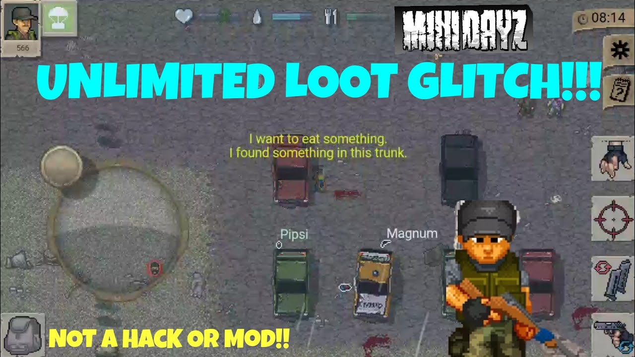 mini dayz mod apk unlimited health and ammo