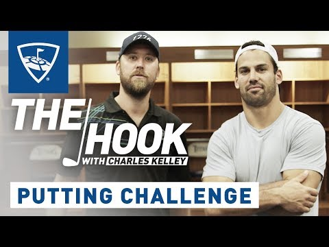 The Hook with Charles Kelley | Eric Decker Putting Challenge | Topgolf