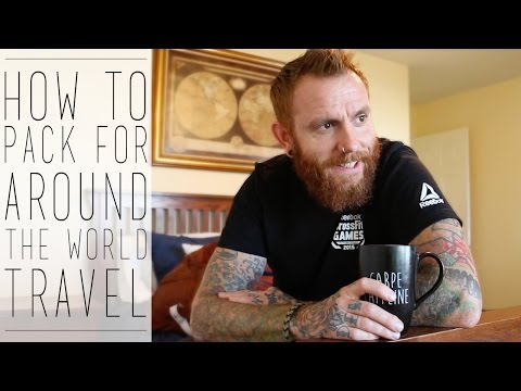 How to Pack for Around the World Travel (Osprey Farpoint 55 Review)