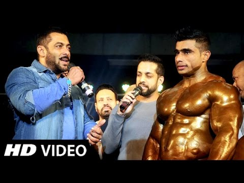 (Video) Salman Khan SUPPORTS Disabled Bodybuilders