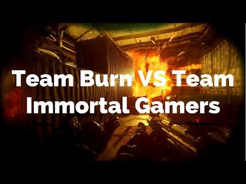 Team Burn vs Team Immortal Gamers - Genetic Gaming Ramadan Tournament.
