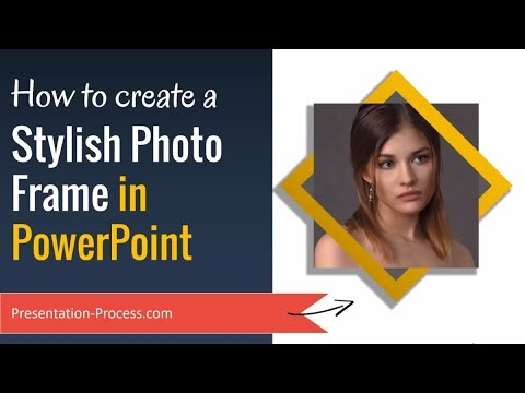 How To Create Stylish Photo Frame In PowerPoint