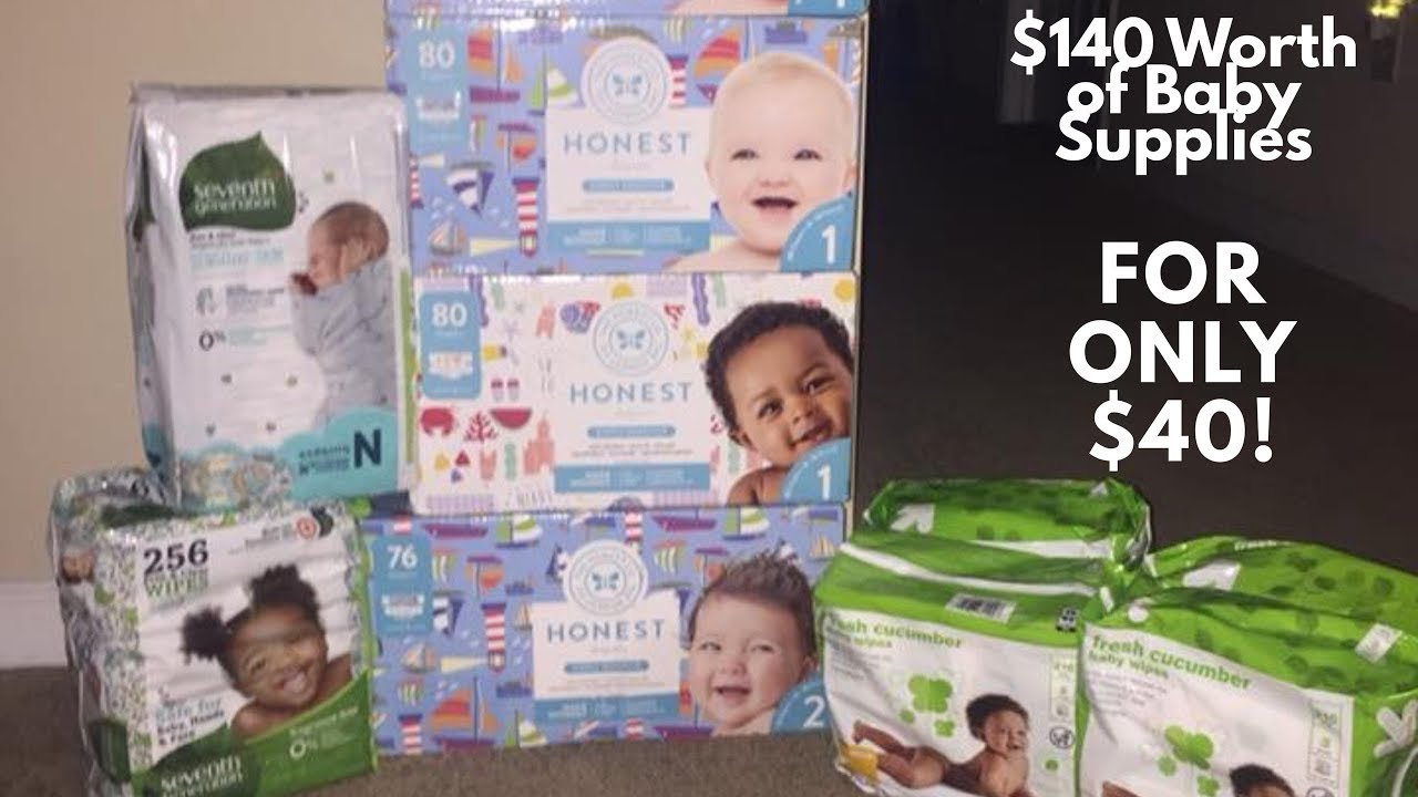 Target Baby Registry Gift Bag Couponing | TEENA KIM - YouTube