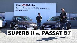 Skoda Superb II vs VW Passat B7 - poradnik kierowcy