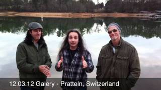12.03.12 Galery - Pratteln, Switzerland Agent Cooper / Tony MacAlpine