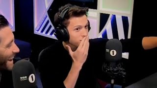 tom holland being peter parker for 5 minutes straight