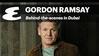 Gordon Ramsay for Esquire cover photoshoot