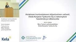 Etelä-Karjalan Työkunto oy, Mira Tiainen, palvelupäällikkö