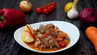 Язык по-мароккански - Рецепты от Со Вкусом