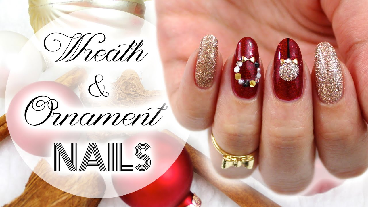 Wreath  Ornament Nails  Christmas Collab With Yire Castillo