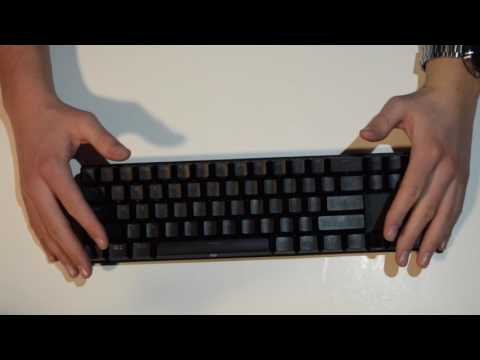 8df6a707f4e DREVO Calibur 71-Key RGB LED Backlit Wireless Bluetooth Mechanical Keyboard  Review - YouTube