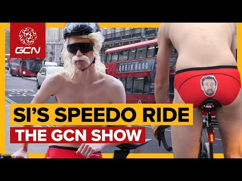 Si Rides Across London In Speedos! | The GCN Show Ep. 307