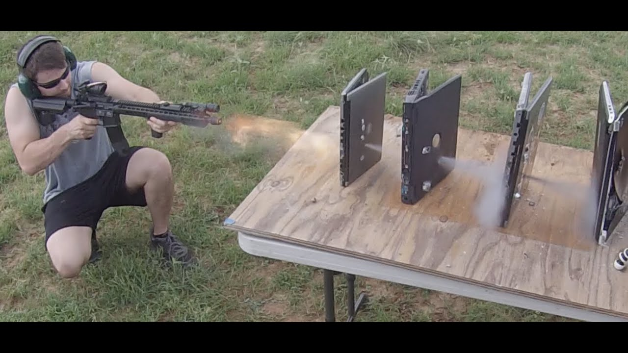 How Many Electronics Does it Take to Stop Bullets?